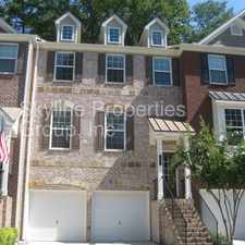 Rental info for Stunning Townhome/ Gated Community!! Like New!! in the Atlanta area