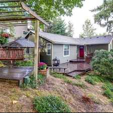 Rental info for 4130 Sw Huber St in the Crestwood area