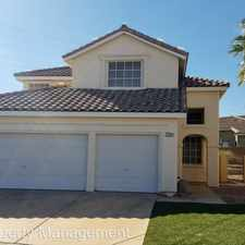 Rental info for 3201 PATINA ST in the Sun City Summerlin area