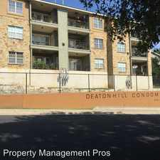 Rental info for 6810 Deatonhill Apt 3100 in the Austin area