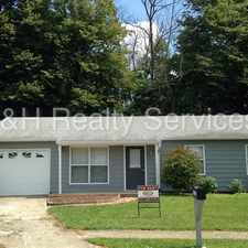 Rental info for PENDING-This Total Electric 3BR in Franklin Township! in the Indianapolis area