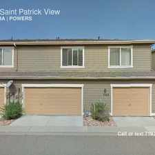 Rental info for 5628 Saint Patrick View in the Wagon Trails area