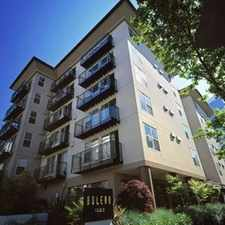 Rental info for 1323 BOREN AVENUE #308 in the First Hill area