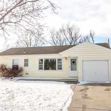 Rental info for 1035 College Lane in the Hutchinson area