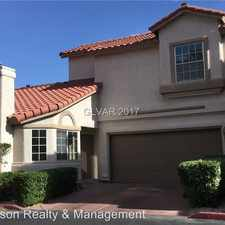 Rental info for 2260 Ramsgate Road in the Green Valley South area