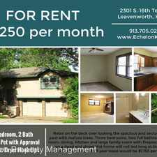 Rental info for 2301 South 16th Terrace