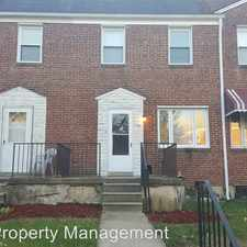 Rental info for 106 Hillvale Rd. in the Irvington area