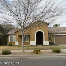 Rental info for 18462 E. Swan Drive in the Power Ranch area