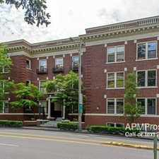 Rental info for 615 Boren Ave in the First Hill area