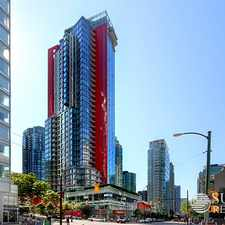 Rental info for 1211 Melville Street #2203 in the West End area