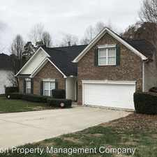 Rental info for 3601 Straussburg Woods Lane in the Charlotte area