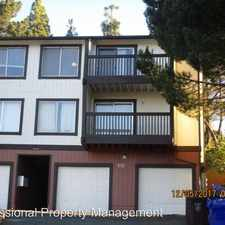 Rental info for 458 Valley View Road in the Pinole area