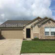 Rental info for 3272 Cork Bend Dr - Gorgeous 3 Bedroom home with a View! in the Indianapolis area