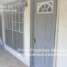 Rental info for 12888 Montfort Dr. in the Dallas area