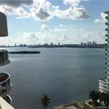 Rental info for 601 Northeast 23rd Street #PH-1805 in the Wynwood-Edgewater area