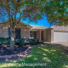 Rental info for 3924 Upper Passage Lane in the Round Rock area