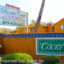 Rental info for Bonita Court in the National City area
