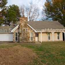 Rental info for 4512 Trout Valley Drive in the Memphis area