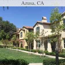 Rental info for Nice Family Townhouse For Rent! in the Azusa area