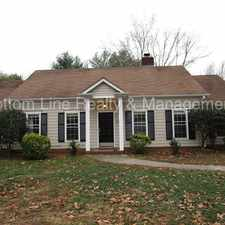 Rental info for Great 3 Bedroom 2 Bath Home Ready for Rent in the Charlotte area