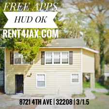 Rental info for 8721 4th Ave in the Riverview area