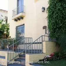 Rental info for 327 North Stanley in the Los Angeles area