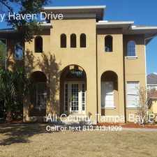 Rental info for 2835 W. Bay Haven Drive in the Ballast Point area