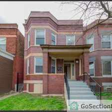 Rental info for beautiful south shore unit in the Grand Crossing area