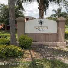 Rental info for 4752 Walden Palms Cir Unit 32 in the Millenia area