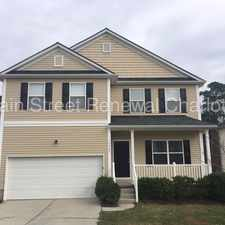 Rental info for Stately Spacious Home In Charlotte in the Charlotte area