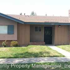 Rental info for 3227 W CABOT DRIVE in the Anaheim area