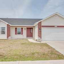 Rental info for 428 Ramblewood Way in the Wentzville area