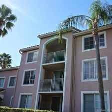 Rental info for 12178 Saint Andrews Pl #305 in the Pembroke Pines area