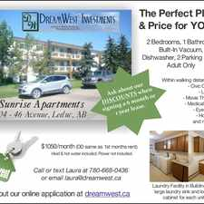 Rental info for 4804 46 Avenue in the Leduc area
