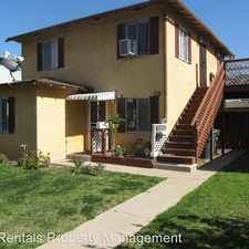 Rental info for 447 South Center in the Santa Ana area