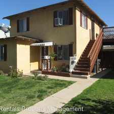 Rental info for 445 South Center in the Santa Ana area