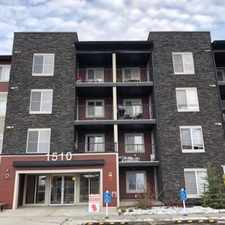 Rental info for 2 Bedroom, 1 Bathroom Apartment Located in Southside Edmonton in the Walker area