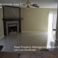 Rental info for 1933 Brightside View Dr in the Baton Rouge area