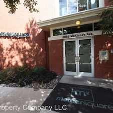 Rental info for 2950 McKinney Ave Suite 312 in the Dallas area