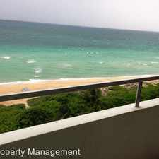 Rental info for 5555 Collins Ave - 10E in the Ocean Front area