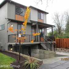 Rental info for 7830 SE Boise Court in the Portland area