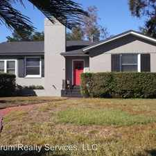 Rental info for 1104 Southshores Rd in the San Marco area