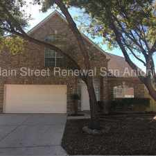 Rental info for Spacious Floorplan in the San Antonio area