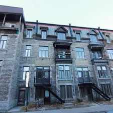 Rental info for 97 Rue Guilbault Ouest #A in the Plateau-Mont-Royal area