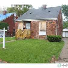 Rental info for three bedroom bungalow in the Detroit area