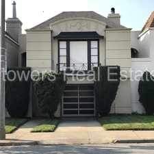 Rental info for 43 Inverness San Francisco 94132 in the Merced Manor area