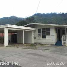 Rental info for 2931 Holua Way - Back in the Kalihi Valley area