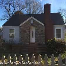 Rental info for 2445 KENILWORTH AVENUE in the Belview area