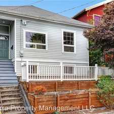 Rental info for 5570 Canfield Pl N in the Green Lake area