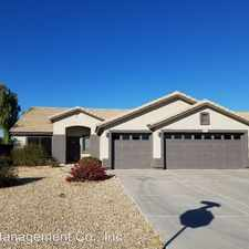 Rental info for 15672 W. Mohave St.